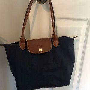 Longchamp navy purse